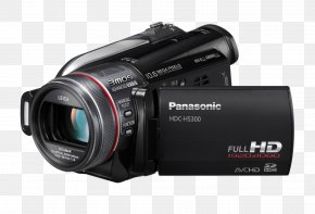 Video Camera Image - Panasonic Video Camera Nikon D300 Camcorder High-definition Video PNG