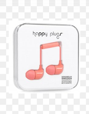 Microphone - Microphone Headphones Happy Plugs In-Ear Écouteur Happy Plugs Earbud PNG