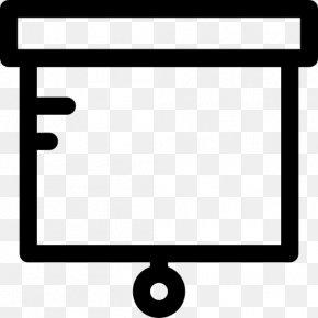 Computer Monitor Accessory Rectangle - Dryerase Boards Line PNG