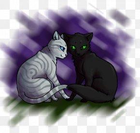 Kitten - Korat Kitten Whiskers Black Cat Domestic Short-haired Cat PNG