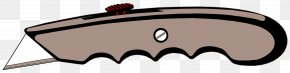 Razor Blade - Knife Cutting Tool Clip Art PNG