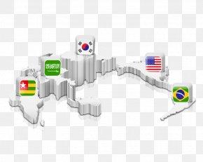 World Map National Flag - Translation Map Commerce PNG