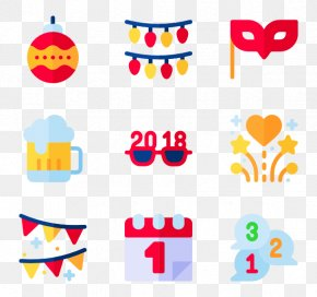 New Year Auspicious Font - New Year's Resolution Party Computer Icons Clip Art PNG