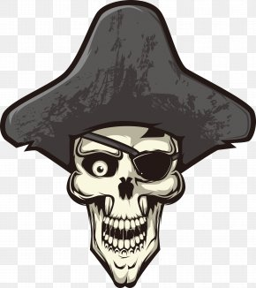 Vector Pirate Skull - Skull Calavera Piracy Euclidean Vector PNG