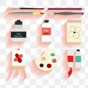 Vector Drawing Tools Material Design - Watercolor Painting Drawing PNG
