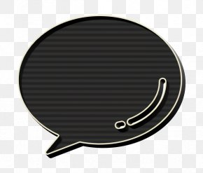 Metal Message Icon - Chat Icon Comment Icon Facebook Icon PNG