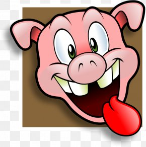 Wacky Cliparts - Pulled Pork Domestic Pig Ham Pig Roast Barbecue Grill PNG