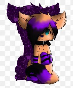 Purple - Black Hair Purple Clip Art PNG