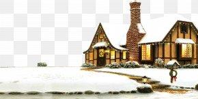 Warm Villa On Snow - Rovaniemi Santas Village Santa Claus Is Comin To Town Christmas PNG