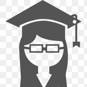 Graduated From University - University Of Houston Student Graduation Ceremony Square Academic Cap College PNG