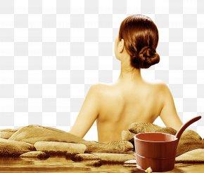 Spa Bath Beauty Back - Bathing Postpartum Confinement U624bu8db3u6d74 Artemisia Argyi Postpartum Period PNG