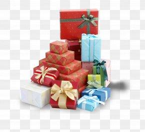 Color Gift Box - Christmas Gift Box PNG