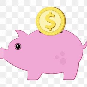 Snout Cartoon - Piggy Bank PNG