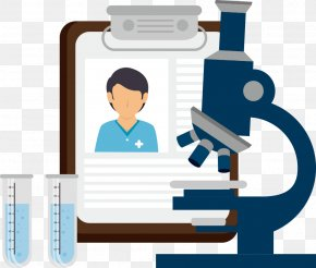 Vector Medically Documented This With A Microscope - Microscope Icon PNG