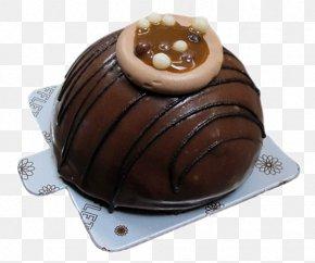 Molten Chocolate Cake - Chocolate Pudding Chocolate Cake Praline PNG