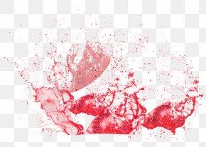 Red Juice Splash Effect - Orange Juice Grapefruit Juice PNG