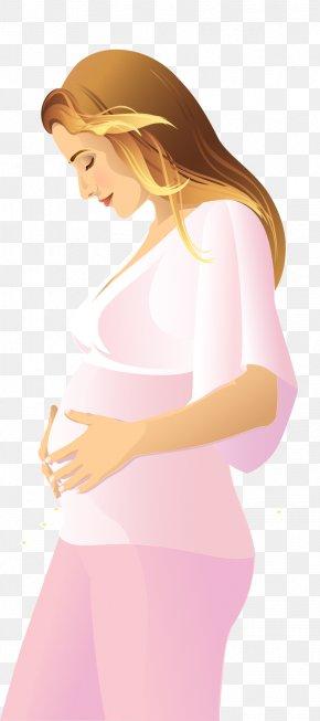 Pregnant Woman - Pregnancy PNG