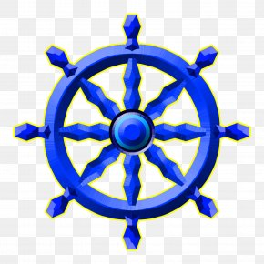 Chakra - Ship's Wheel Helmsman Clip Art PNG