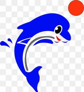 Dolphin Tone - Cartoon Dolphin Animation PNG