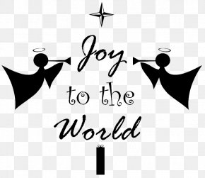 Youtube - Joy To The World Black And White YouTube Clip Art PNG