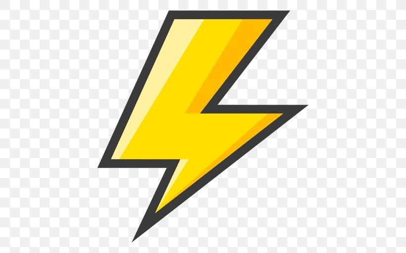 Lightning Bolt Symbol Clip Art Png 512x512px
