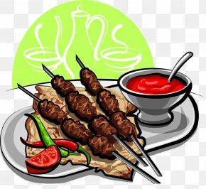 Barbecue Skewers - Barbecue Shish Kebab Steak Ribs PNG