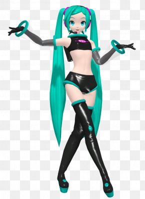 Hatsune Miku - Hatsune Miku: Project DIVA Arcade Space Channel 5 MikuMikuDance PNG