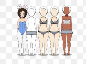 Amber Highlights Hair Style - Shoulder Illustration Human Behavior Cartoon PNG