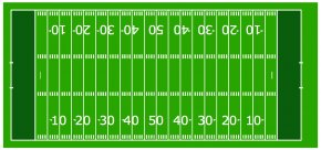 Sports Field Cliparts - American Football Field Football Pitch Stadium Clip Art PNG
