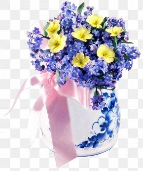 Flower Vase - Flower Bouquet March 8 International Women's Day PNG