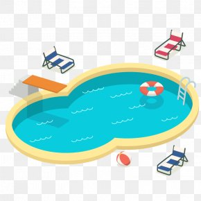 Vector Pool - Swimming Pool Euclidean Vector Clip Art PNG