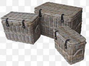 Wood Basket - Basket Rattan Wicker Furniture Hamper PNG