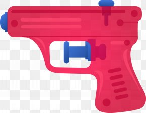 Hand Gun - Firearm Toy Weapon Water Gun Clip Art PNG