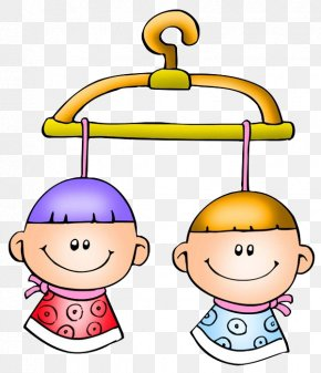 Child - Clothes Hanger Cartoon Clip Art PNG