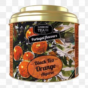 Orange Candy House - Green Tea Black Tea Gorreana Flavor PNG