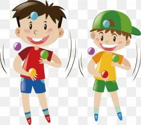Juggling Color Ball - Juggling Ball Royalty-free Illustration PNG