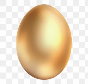 Gold Golden Eggs - Sphere Egg Orange Computer Wallpaper PNG
