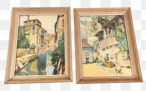 Painting - Watercolor Painting Picture Frames PNG