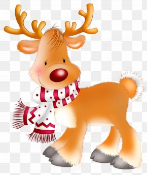 Rudolph Png Clipart Picture - Rudolph Santa Claus's Reindeer Christmas Clip Art PNG