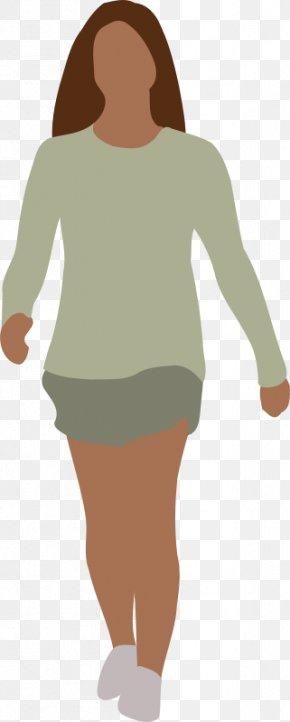 Human Walking Cliparts - Walking Woman Silhouette Clip Art PNG