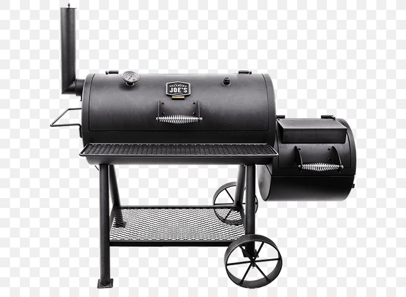 Barbecue Smoking Char-Broil Oklahoma Joe's Charcoal Smoker And Grill BBQ Smoker Cooking, PNG, 645x600px, Barbecue, Bbq Smoker, Charbroil, Cooking, Grilling Download Free