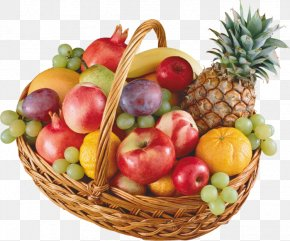 Design - Basket Of Fruit Food Gift Baskets Clip Art PNG