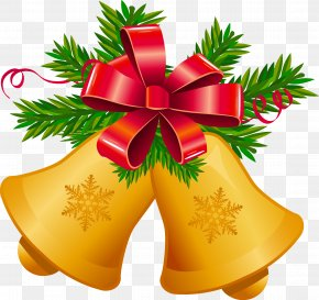 Christmas Bell - Christmas Jingle Bell Clip Art PNG