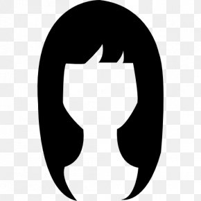 Long Hair - Long Hair Black Hair PNG