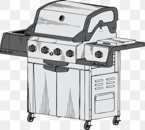 Bbq Vector - Barbecue Grill Spare Ribs Kebab Grilling Clip Art PNG