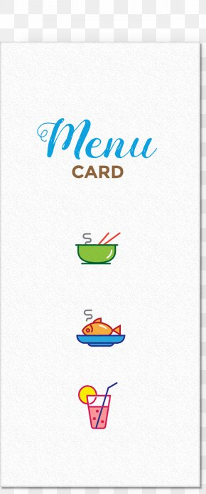 Menu Card - Menu Restaurant Icon PNG