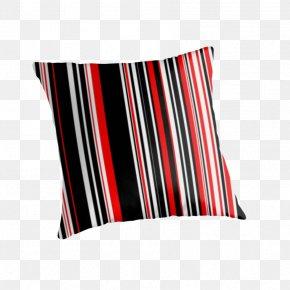Striped Material - Throw Pillows Cushion Textile Line PNG