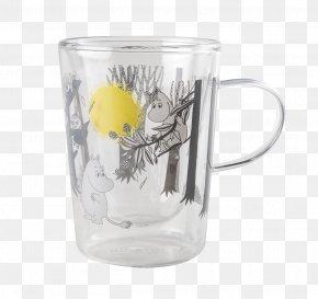 Mug - Mug Glass Tableware Moomins Moomintroll PNG
