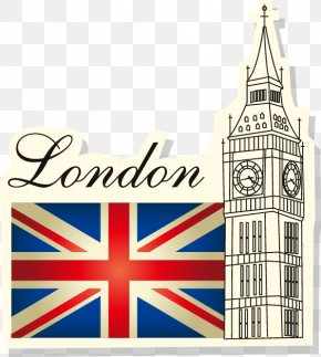 British Flag Painted Architectural Pattern - Flag Of Great Britain United States Flag Of The United Kingdom PNG