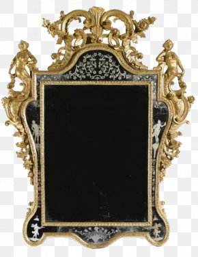Black Frame - Italy Picture Frame Mirror PNG